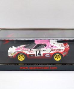 SPARK 143 Lancia Stratos Winner Coupes des Dames Monte Carlo 1977