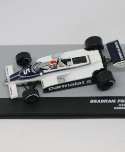Altaya 143 Brabham Ford BT49C Nelson Piwuet 1981 N.5 Germany GP