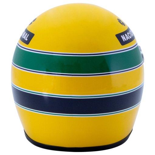 Mini Helmet Ayrton Senna Formula Uno 1994 Williams Renault scala 12 retro
