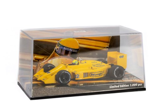 Minichamps 143 Ayrton Senna F1 Lotus Honda 99T Japan GP 1987