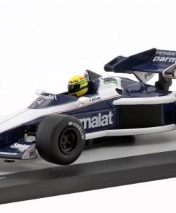 Modellino Altaya 1 43 Brabham BT52B Ayrton Senna test 1983 3