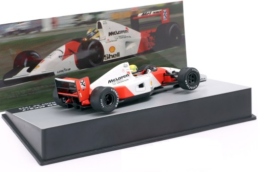 Modellino Altaya 1 43 McLaren MP47 Ayrton Senna Germany GP 1992 1