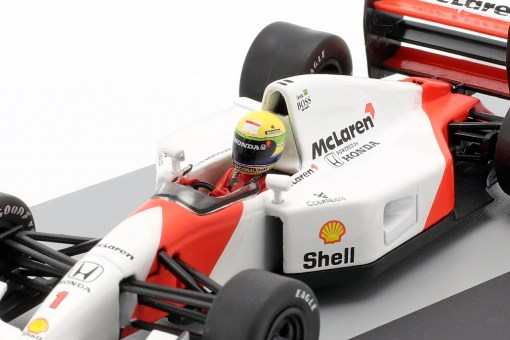 Modellino Altaya 1 43 McLaren MP47 Ayrton Senna Germany GP 1992 4