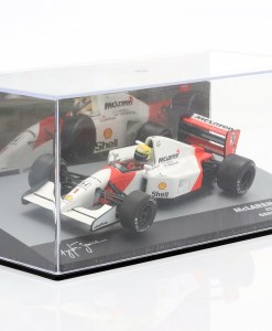 Modellino Altaya 1 43 McLaren MP47 Ayrton Senna Germany GP 1992 5