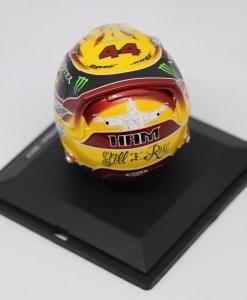 Spark 15 Mini Helmet Lewis Hamilton Mercedes 2017 Die Cast 3