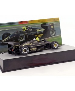 Modellino Atlas 143 Ayrton Senna Lotus 97T 12 Winner Portugal GP F1 1985 1