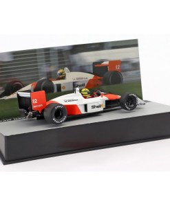Modellino Atlas 143 Ayrton Senna McLaren MP44 12 Winner San Marino GP F1 1988 1