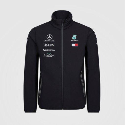 Giacca Softshell Uomo Team F1 Mercedes AMG Petronas nero