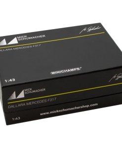 Modellino Auto F3 Minichamps 143 Dallara Mercedes F317 Mick Schumacher 2018