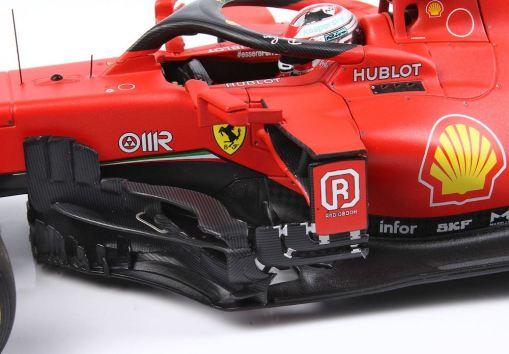 Modellino F1 BBR Models 118 Ferrari Sf1000 Charles Leclerc 2020 Red Bull ring lato 1