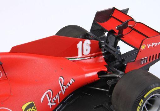 Modellino F1 BBR Models 118 Ferrari Sf1000 Charles Leclerc 2020 Red Bull ring retro 2