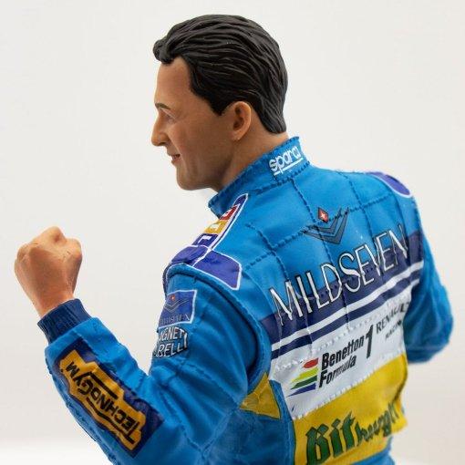 michael schumacher figure second f1 world championship 1995 1 10
