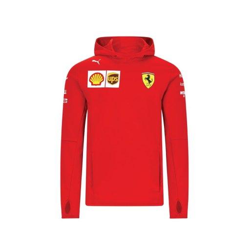 Felpa tessuto tecnico Ferrari Team F1 2020 Uomo