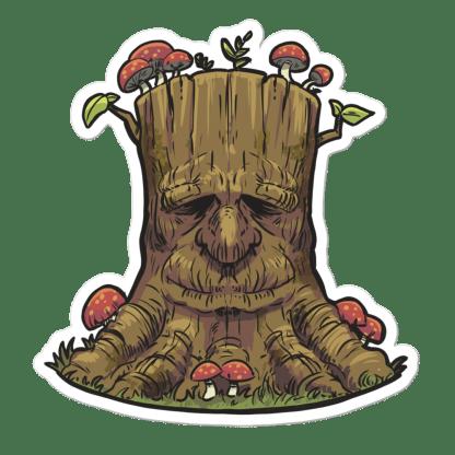 Sticker arbre magique