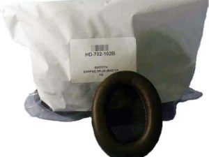 HD-702-102B EARPAD, SMOOTH LEATHERETTE EARPAD, SR-30, 31, 35, 40, CUPPED SRX2 (BAG OF 10)