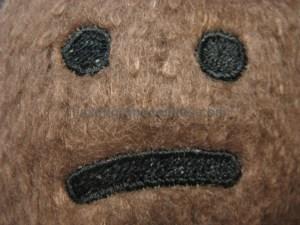 Catnip Cat Toy Face Close-up