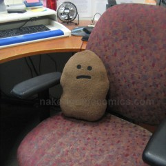 Poop Office Plush Doll