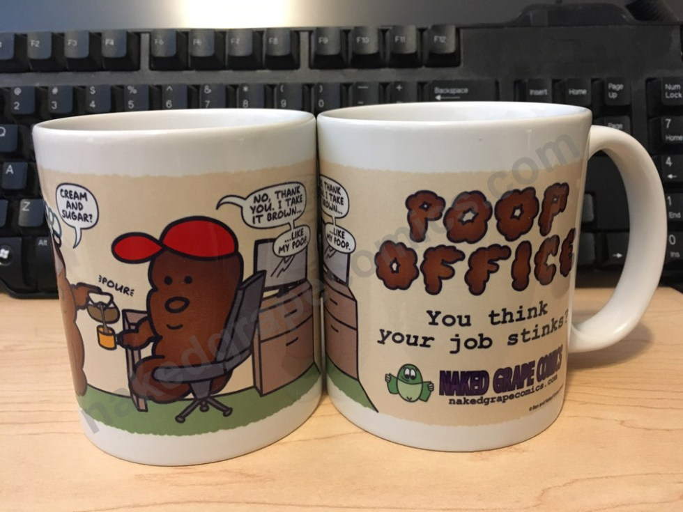 "Poop Office ""Brown Coffee"" Mug"