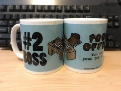 Poop Office #2 Boss Mug