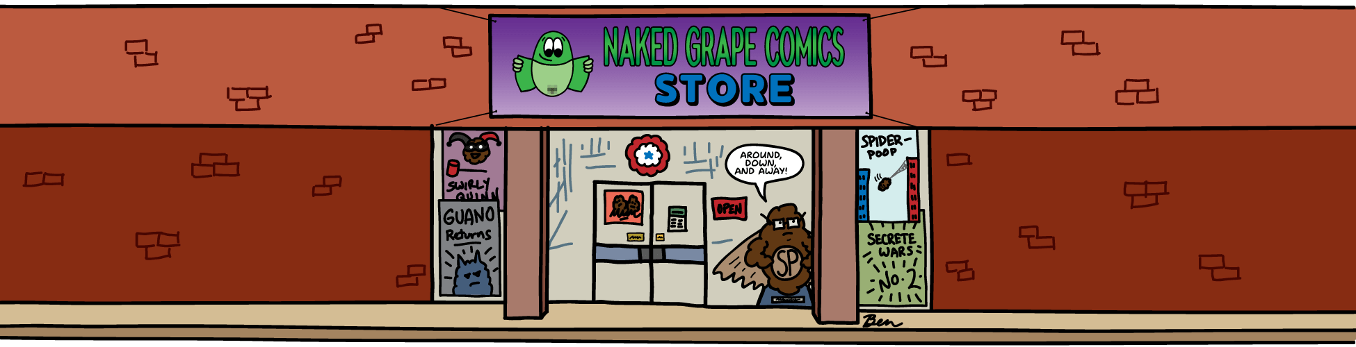 Naked Grape Comics Store
