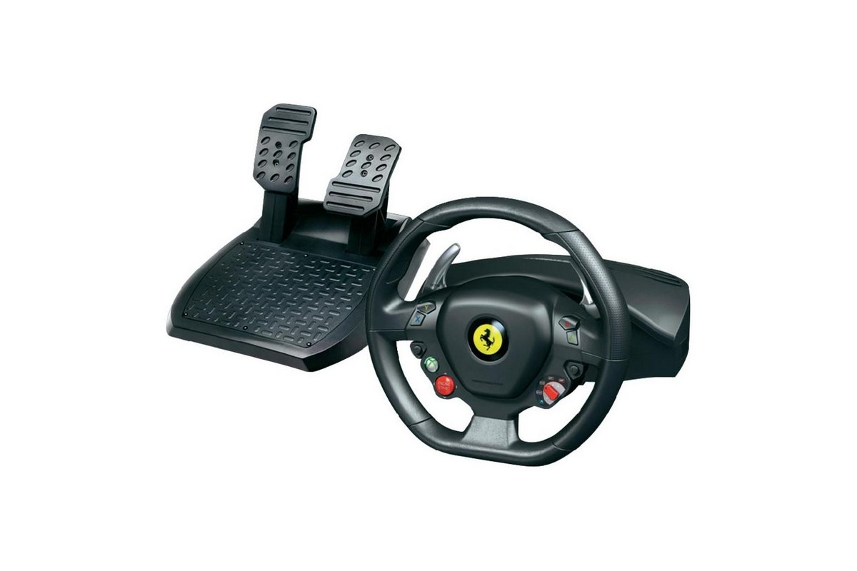 Ferrari 458 Racing Wheel ThrustMaster NewConcept Informatique