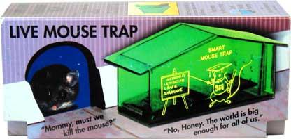 Humane No-Kill Mousetrap