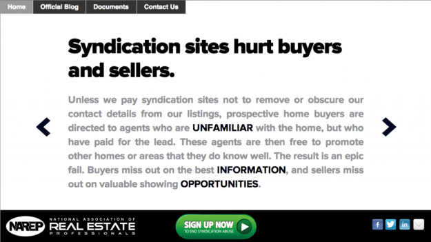 Syndication is EVIL