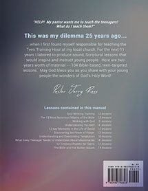 104 Teen Bible Lessons (back)