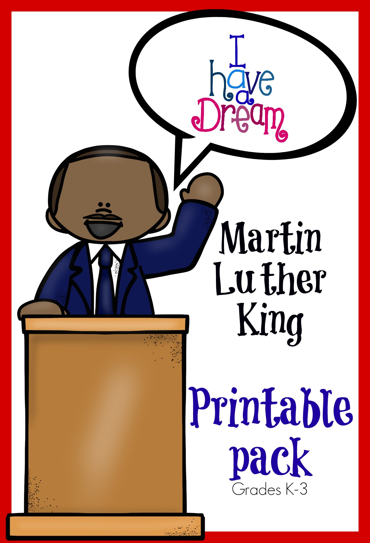 Martin Luther King Jr Worksheet Kindergarten