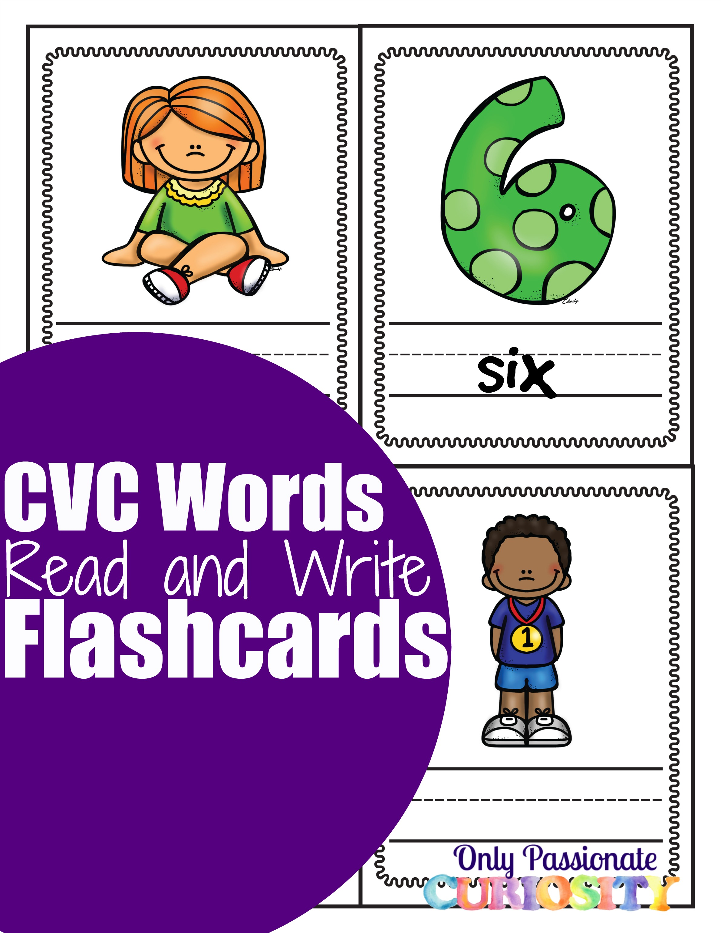 Cvc Letter I Write And Review Flashcards
