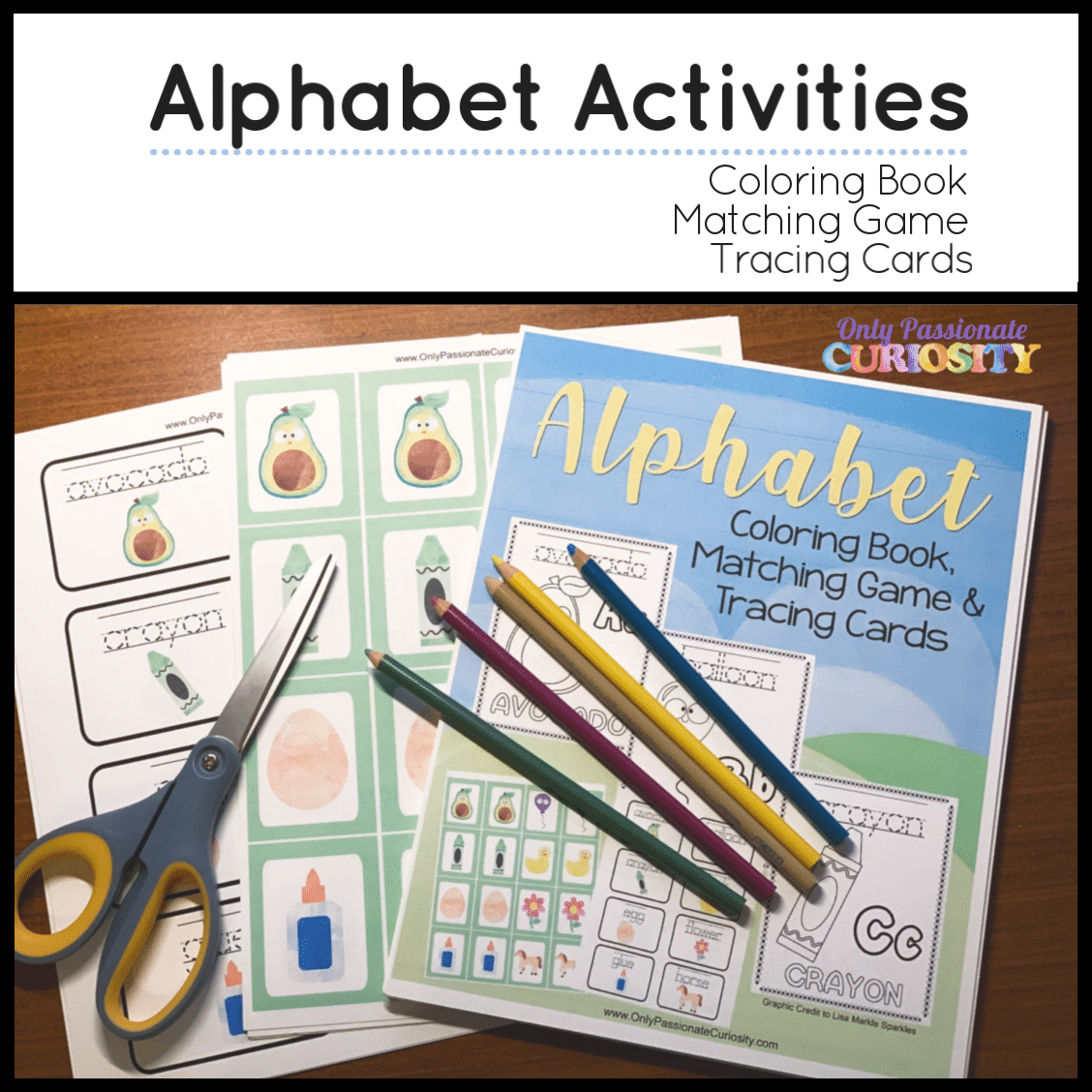 Alphabet Activity Worksheets