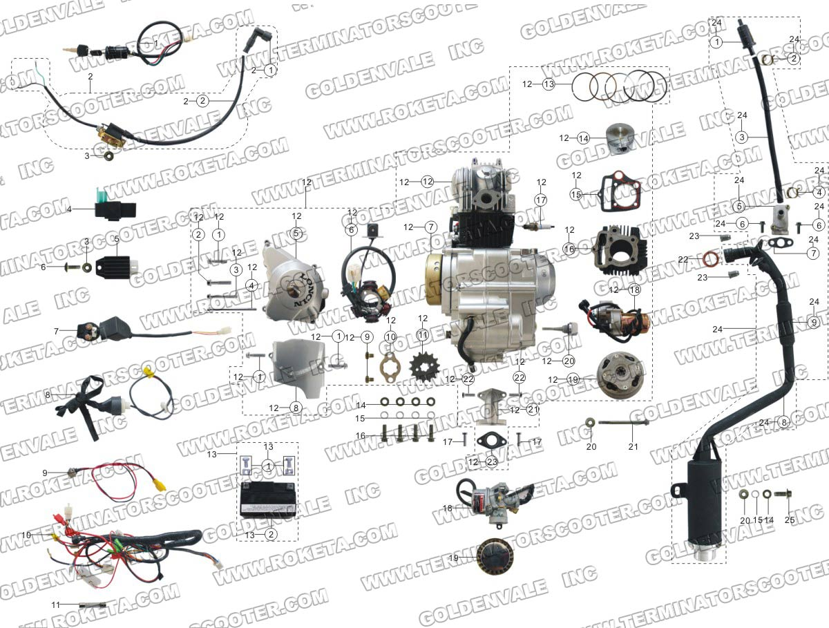 Yamaha Atv Part And Accessory