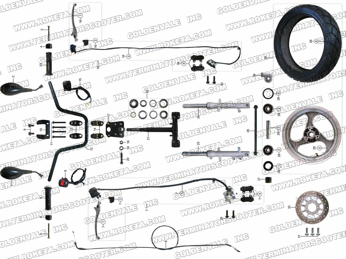 Roketa Buggy Wiring Diagram