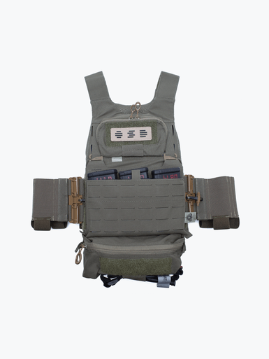 Plate carrier with OSD patch on chest