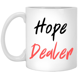 Hope Dealer 11 oz. White Mug