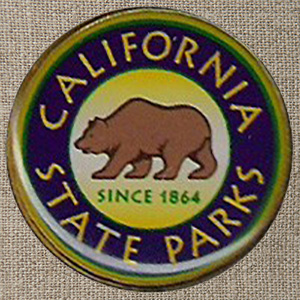 California State Parks Color Lapel Pin