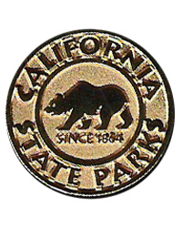 California State Parks Gold Lapel Pin