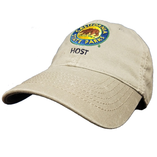 California State Parks Host Hat for volunteers