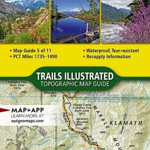 National Geographic PCT Klamath Mountains