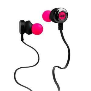 auricular monster clarity hd rosa in-ear