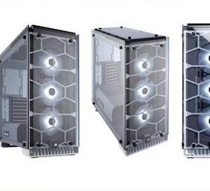 caja  atx semitorre corsair crystal 570x rgb blanca  cc-9011110-ww