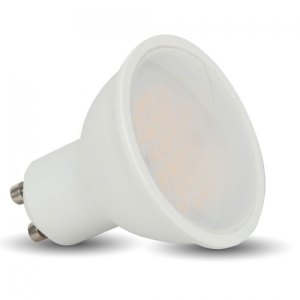 bombilla led gu10 v-tac 5w-40w luz natural 320lm 110grs wide l1686
