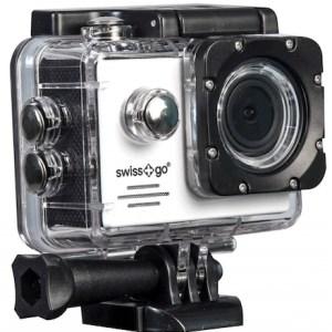 camara video  swiss-go deportiva sg-1.8w full hd wifi + accesorios negra