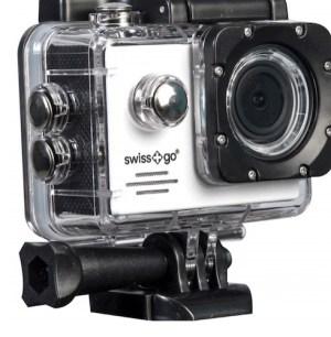camara video  deportiva swiss-go sg-1.8w full hd wifi + accesorios blanca