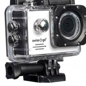 camara video  swiss-go deportiva sg-1.8w full hd wifi + accesorios blanca