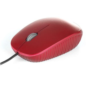 raton  ngs usb  optical wired mouse flame red