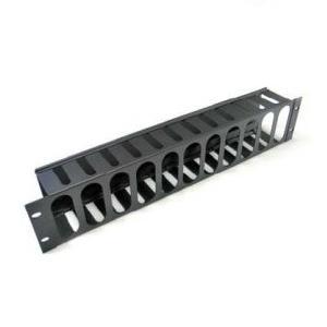 guia 1u armario rack para cable con tapa 3060001-2