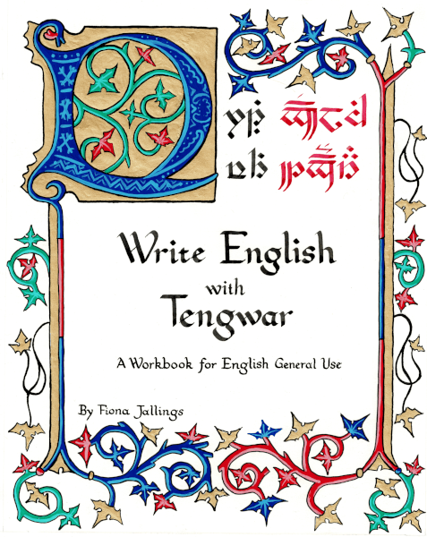 Cover of Write English with Tengwar