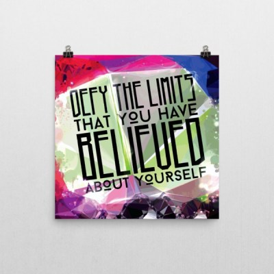 Defy Your Limits – Poster