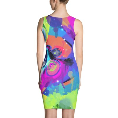 Good Morning – Abstract Art Sublimation Cut & Sew Dress